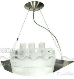 Люстра-кораблик в детскую