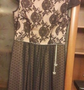 Платье коктейльное р-р 48