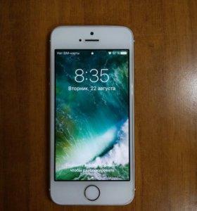 iPhone s5 16gb золотой