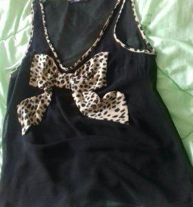 Новая Шифоновая блузка