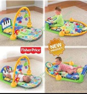 Игровой коврик Fisher Price Пианино