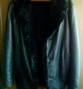 Продам кожанную куртку