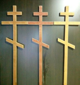 Крест на могильный. Гроб заготовка