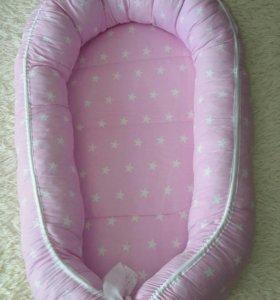 Кокон-гнездышко  для новорожденной принцессы