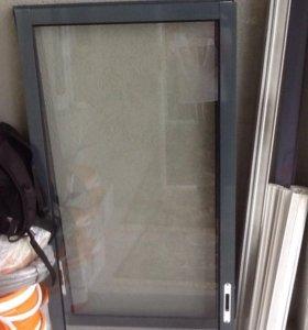 Створка балконная раздвижная и стекло