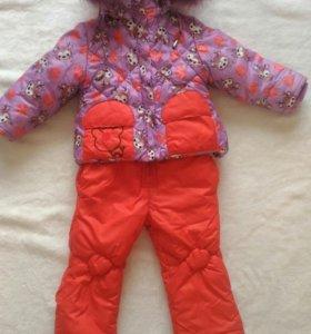 Комплект куртка + комбинезон на зиму