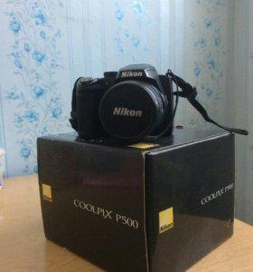 Фотоаппарат Nikon collpix p500