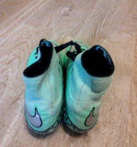 Бутсы Nike Hypervenom профессиональные