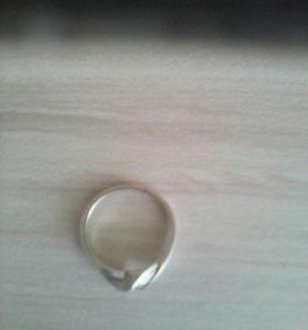 Кольцо серебряное. СССР
