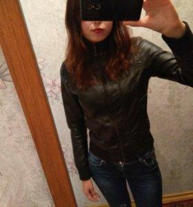 Кожаная куртка, S