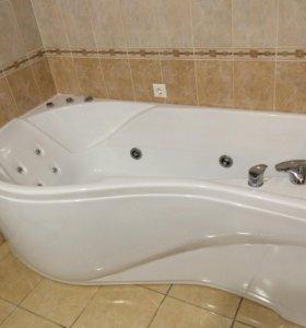 Врезные смесители на борт ванны.