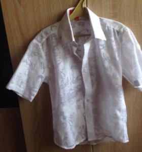 Рубашка для мальчика на 6-8 лет
