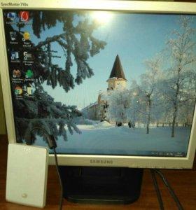 ЖК Монитор SAMSUNG+жесткий диск Seagate 300GB