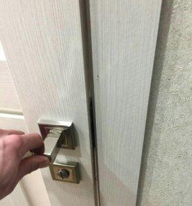 Установка дверей и обрамлений
