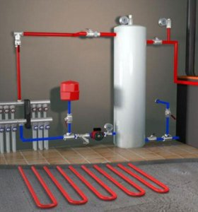 Монтаж Отопления.Водопровода.Канализации.Вентиляци