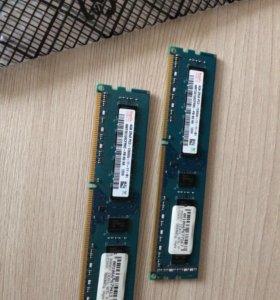 8 GB DDR3 озу (4Gbx2) Hynix