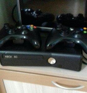 Xbox 360 +кинект+23диска