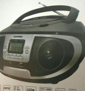 Магнитола,центр, бумбокс,CD,MP3,FM,USB,AUX
