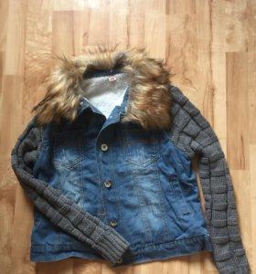 Курточка ждинсовая💎
