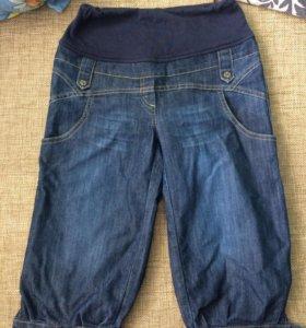 Бриджи джинсовые для беременных