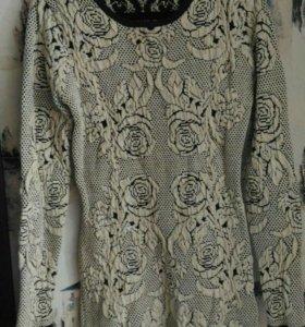 Платье теплое р.42-44