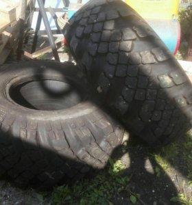 Новые шины на КрАЗ