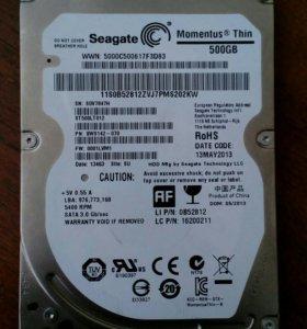 Жесткий диск Seagate Momentus Think 500GB