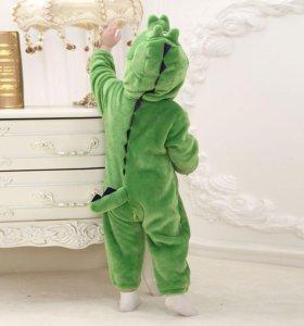 Удобный костюм Дракона на мальчика (новый)