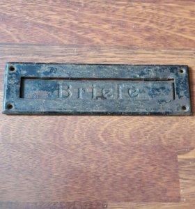 Табличка с надписью для писем