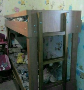 Кровать двухъярусная детская торг ..