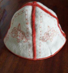 Кыргызский калпак..шапка