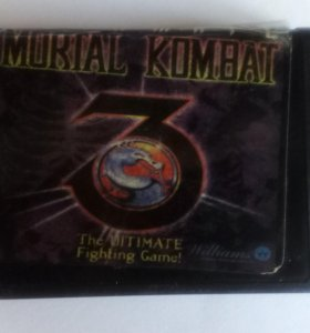 "Картридж Sega ""ULTIMATE Mortale Kombat 3"""