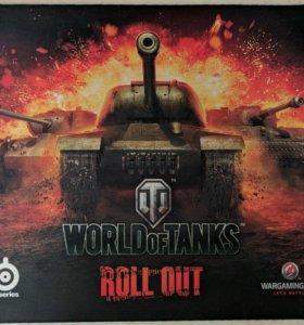 Коврик для мыши Steelseries QCK World of Tanks Ed