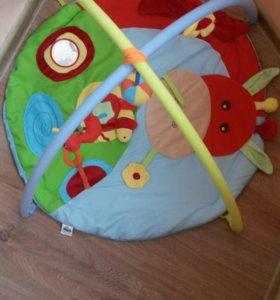 Игровой развивающий коврик