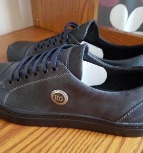 Кожаные ботинки Roberto Gvisar