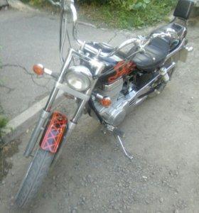Продам мотоцикл suzuki savage ls 400