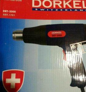 Фен строительный Dorkel 2000Вт