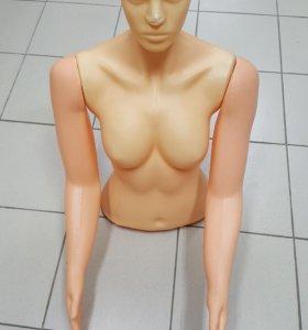 Женский торс со съемными руками