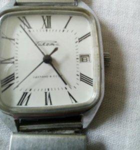 Часы Ракета механика .Сделано в СССР