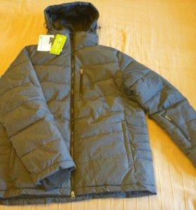 Новая зимняя стеганая куртка мужская р.50-52 (XL)