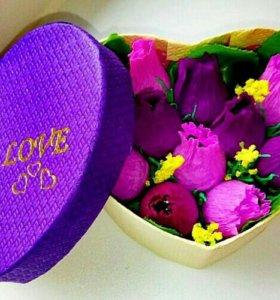 Коробочка с цветами (АКЦИЯ)
