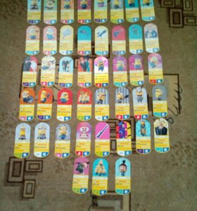 Карточки Миньона