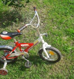 Велосипед 4-х колесный