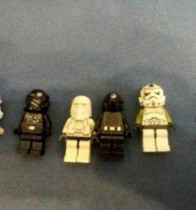 Лего минифигурки Звездные войны/эльфы
