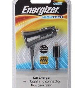 Energizer auto зарядка (витой кабель) MFI