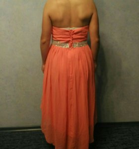 Платье(персиковое)