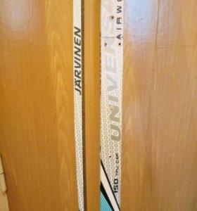 Детские пластиковые лыжи 150см