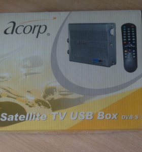 Acorp DVB-S тюнер TV878DS(PCI/USB)