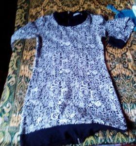 Платье-туника теплое F5