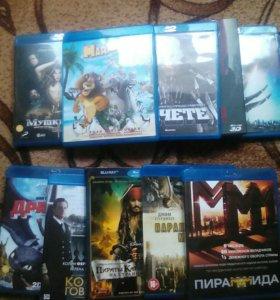 Фильмы на Blu-ray дисках лицензионные